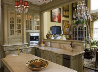 Classic Custom Kitchen - McLean, VA