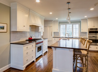 Colonial Style Kitchen - ALbemarle County, VA