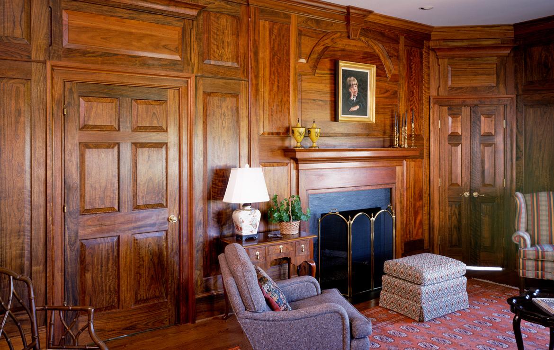 Elegant Family Room Charlottesville Va