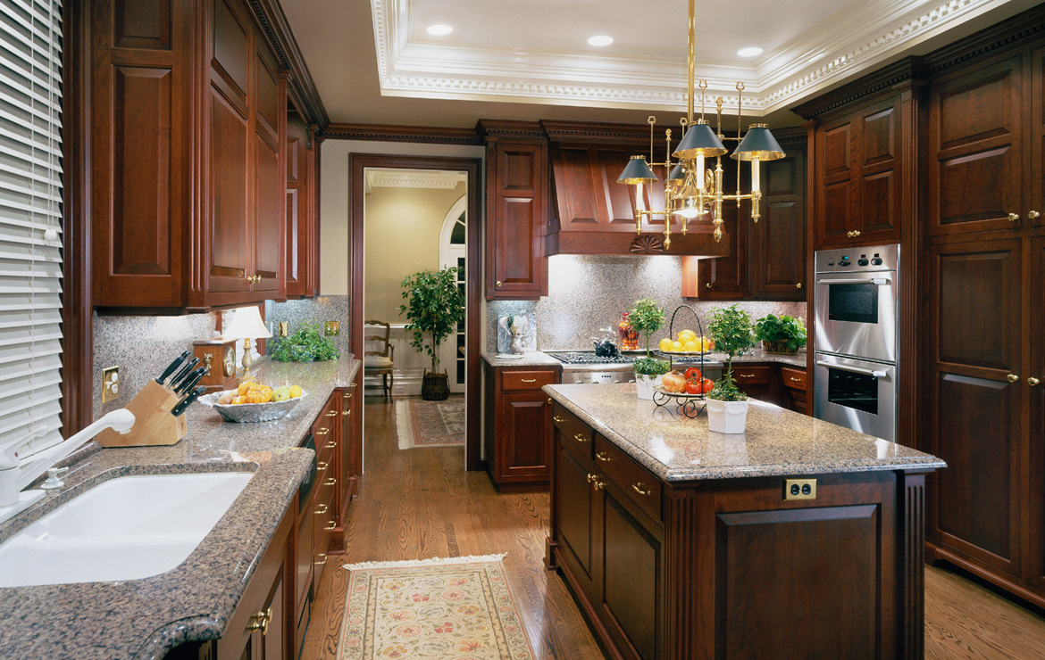 Cherry Custom Kitchen Cabinetry - Charlottesville, VA